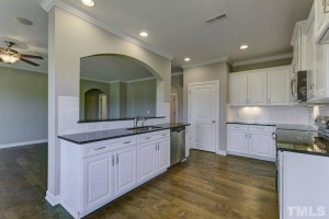 the spacious kitchen of 135 w wellesley drive