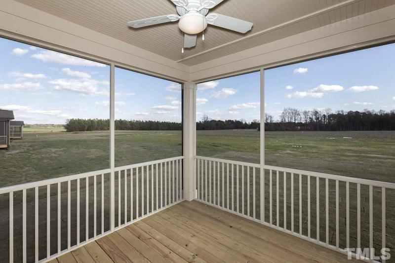 the screened in porch at 135 w wellesley drive