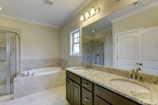 spalike master bathroom