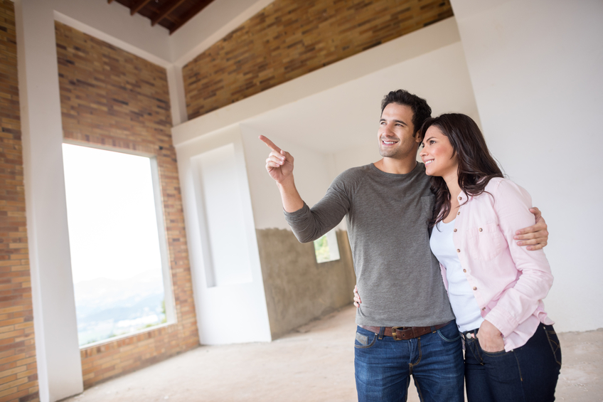 walk through and make sure everything looks good in your new home!