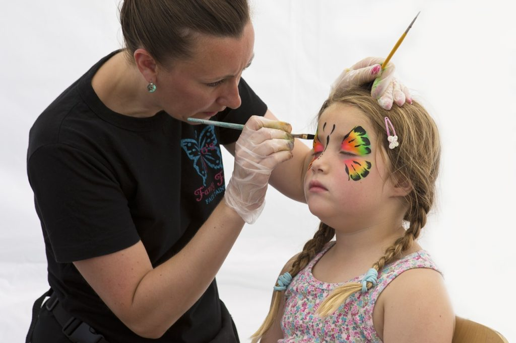 face painting and other clayton fall events
