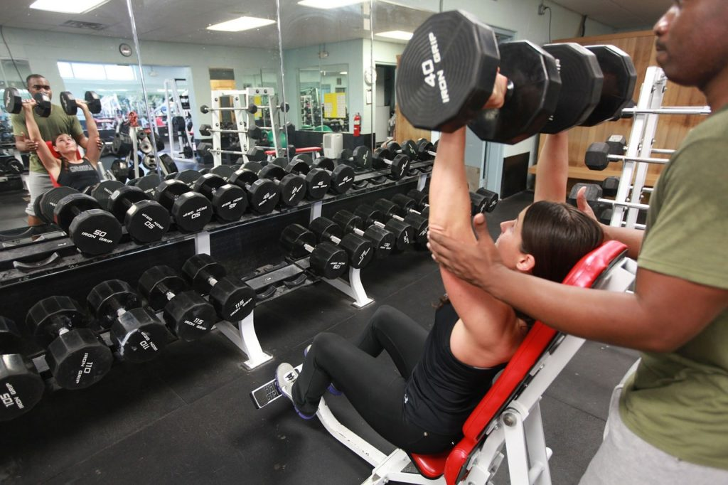 working with a personal trainer for a bodybuilding competition